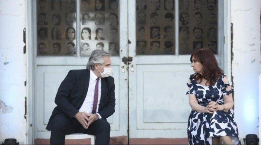 El Presidente Alberto Fernandez y la Vicepresidenta Cristina Fernández de Kirchner volvieron a estar juntos en un acto.