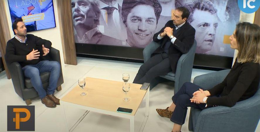 El intendente de Chacabuco, Víctor Aiola entrevistado por LadoP