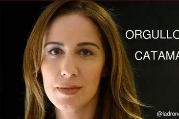 El GIF que al azar permite ubicar a María Eugenia Vidal como orgullosamente parte de alguna provincia argentina