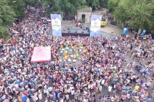 carnaval platense: sin festejo en meridiano v, el evento se concentra en la republica de los ninos