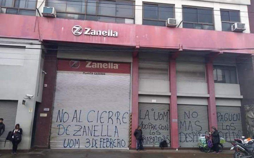 Zanella despidió a 70 trabajadores de su planta en Tres de Febrero y busca pagar el 50% de las indemnizaciones
