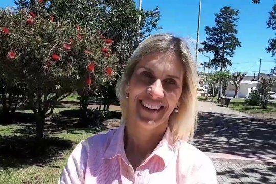 Paola Maggiotti, presidente del Concejo Deliberante de Navarro.