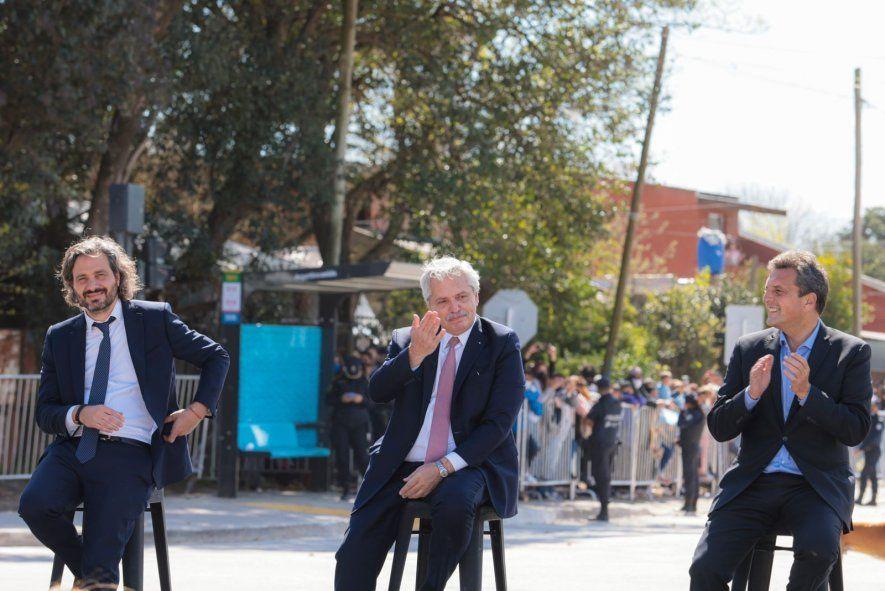 El presidente Alberto Fernández se mostró autocrítico durante un acto en Almirante Brown.