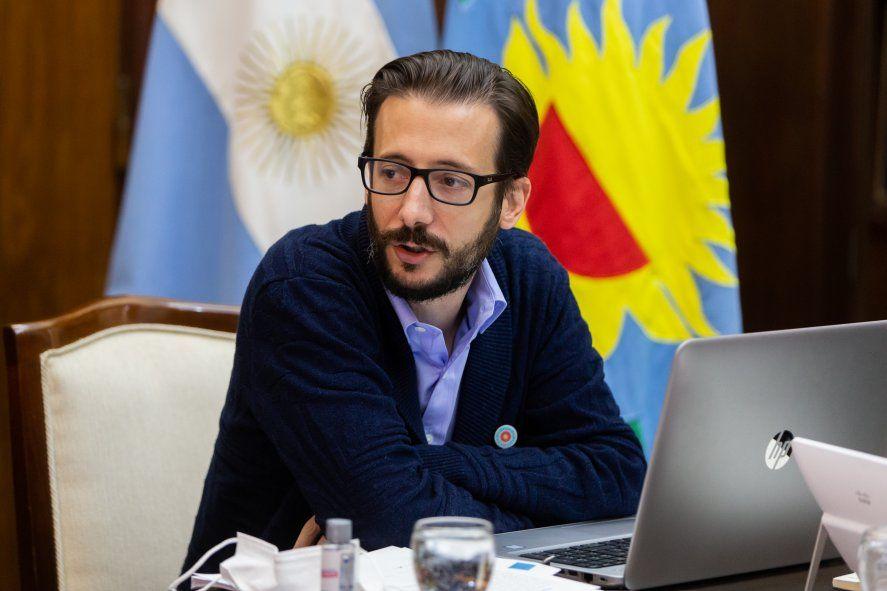 Agustín SImone, otro ministro de Axel Kicillof en la cuerda floja