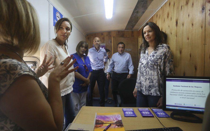 Con la mira en las elecciones: Vidal visitó La Matanza, junto a Stanley, Dietrich y Finocchiaro
