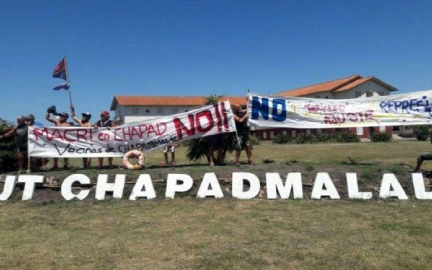 """Hartos de sus vacaciones, vecinos de Chapadmalal criticaron que Macri haya hecho de Chapadmalal un """"bunker"""""""