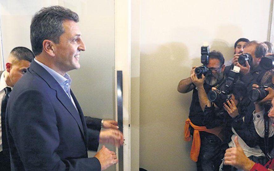 Primeras repercusiones de la decisión de Massa de encabezar la lista de diputados en la Provincia