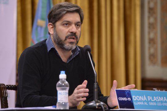Carlos Bianco fue consultado por el caso de Lunghi y de Tandil
