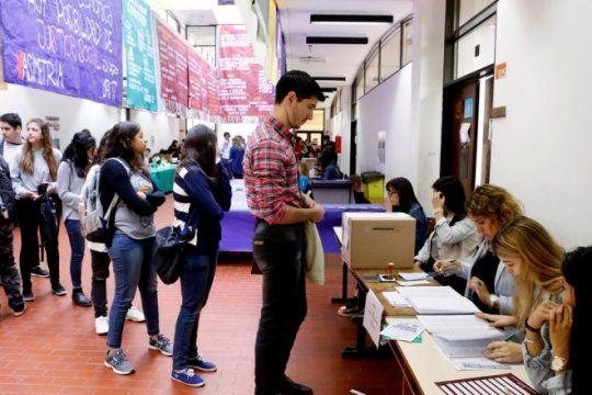 expectativa en las 17 facultades de la unlp: arranco la ultima jornada de las elecciones estudiantiles