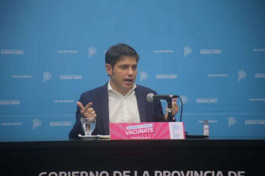 Kicillof: Vamos a reconstruir el tejido económico y social