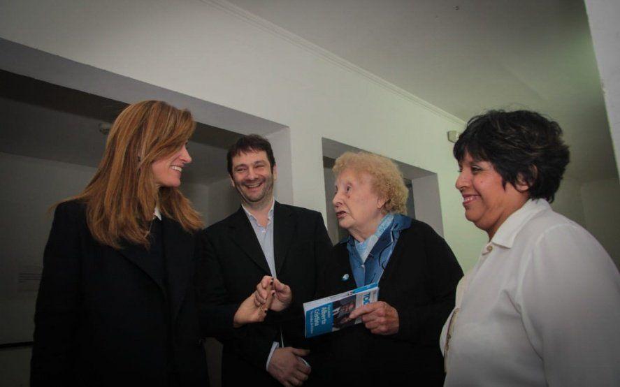 En su carrera por la intendencia de La Plata, Tolosa Paz sumó el apoyo de un exconcejal felipista