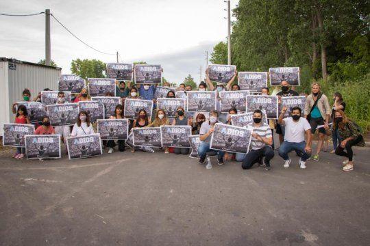 Todos con el 10: el afiche de Maradona que hizo furor en La Plata.