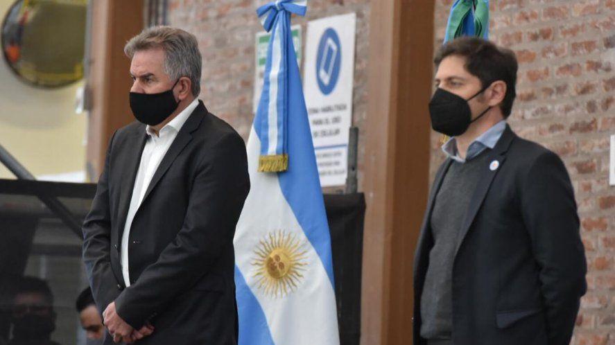 Kicillof visitó ayer Bahía Blanca y el intendente Héctor Gay le reclamó soluciones al problema del agua