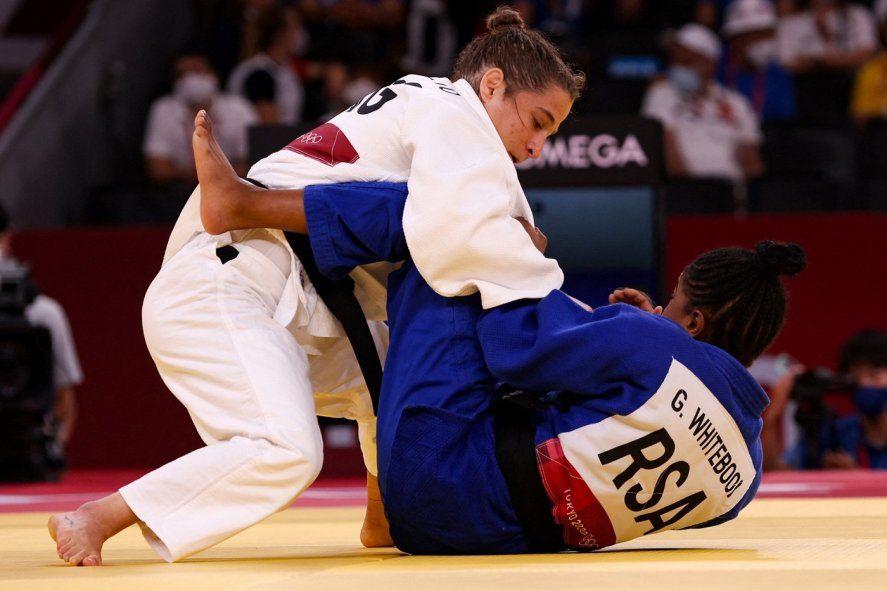 Paula Päreto y su primera victoria en los Juegos Olímpicos de Tokio 2020