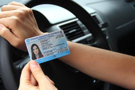 La Provincia prorrogó por un año el vencimiento de las licencias de conducir