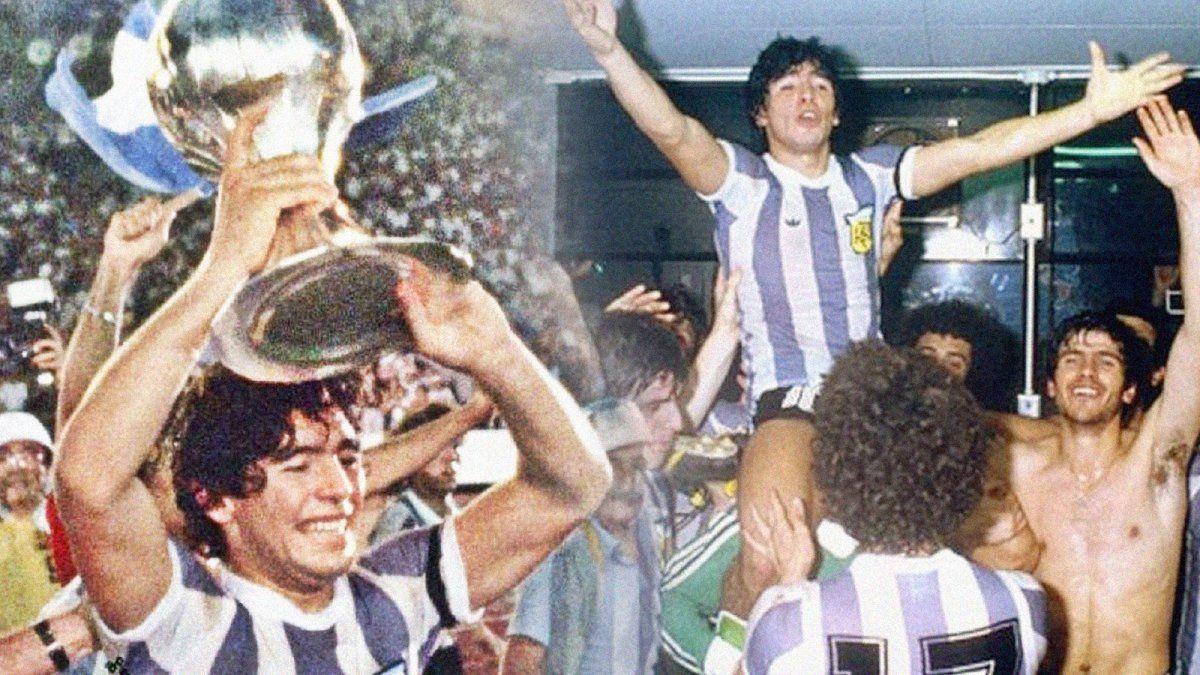 Maradona campeón: a 41 años del título en el Mundial Sub 20 | CieloSport