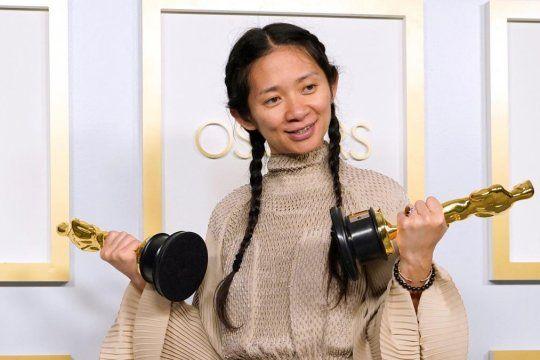 Zhao, la directora que recibe la censura del gobierno de China.