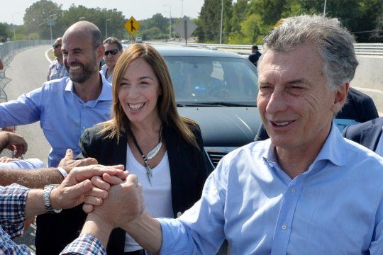 Macri y Vidal, en los tiempos en los que ambos gobernaban (Foto de Archivo)