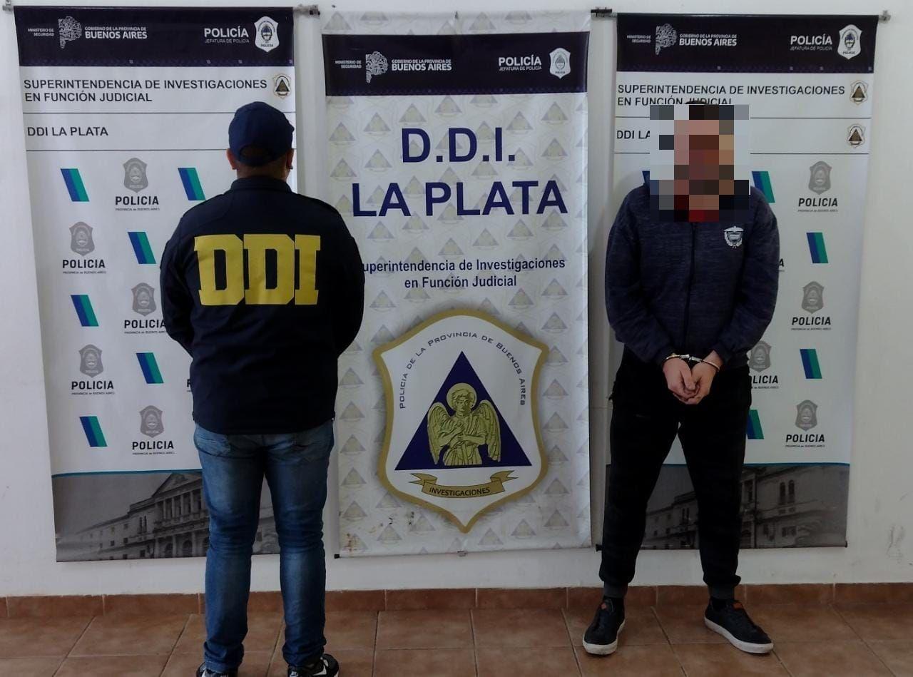 El hombre de 46 años fue detenido por detectives de la DDI La Plata