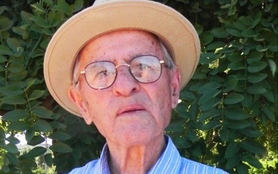Un abuelo bonaerense cumple 105 años y grabó un video para invitar a todo el pueblo a festejar