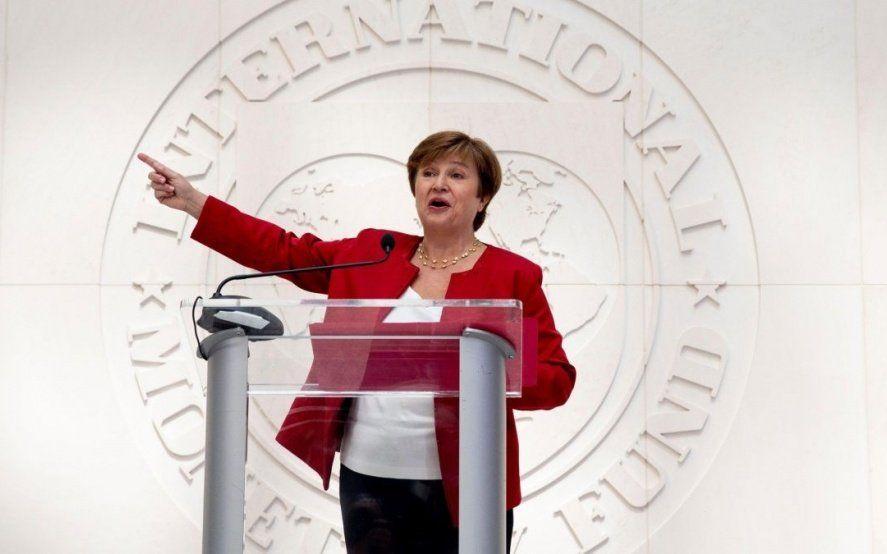 Alberto Fernández no descartó un encuentro con la titular del FMI, Kristalina Georgieva