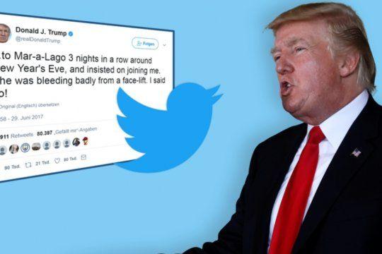 Simpatizantes de Trump en todo el mundo proponen un apagón de Twitter todo el día de hoy miércoles 13 en protesta por el cierre de su cuenta