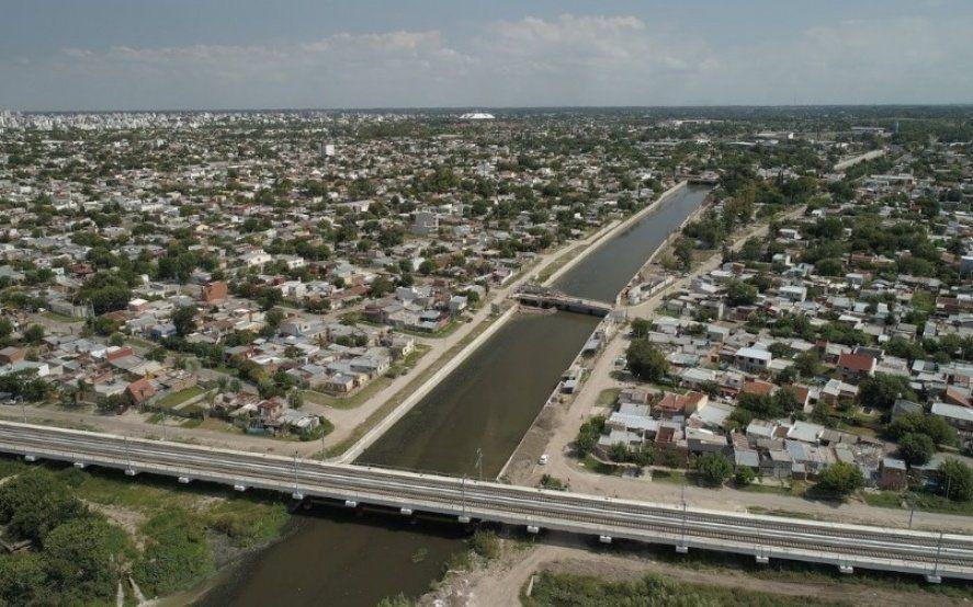 Plan hidráulico provincial: Cómo es la obra que inauguró Vidal en La Plata y las que todavía están en ejecución