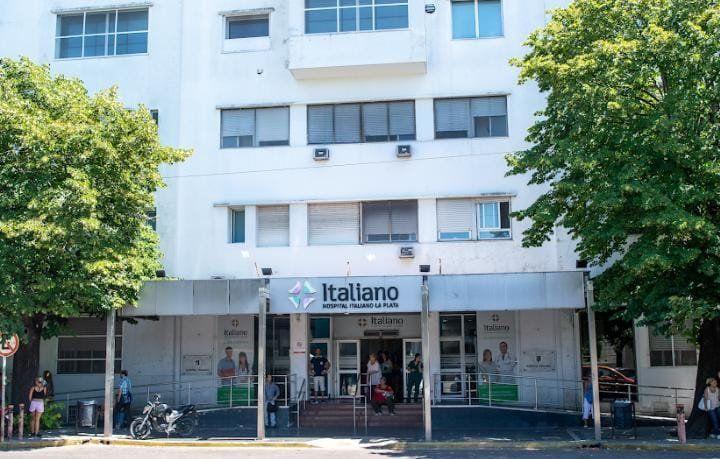 La Plata: 90% de ocupación de camas en el Hospital Italiano
