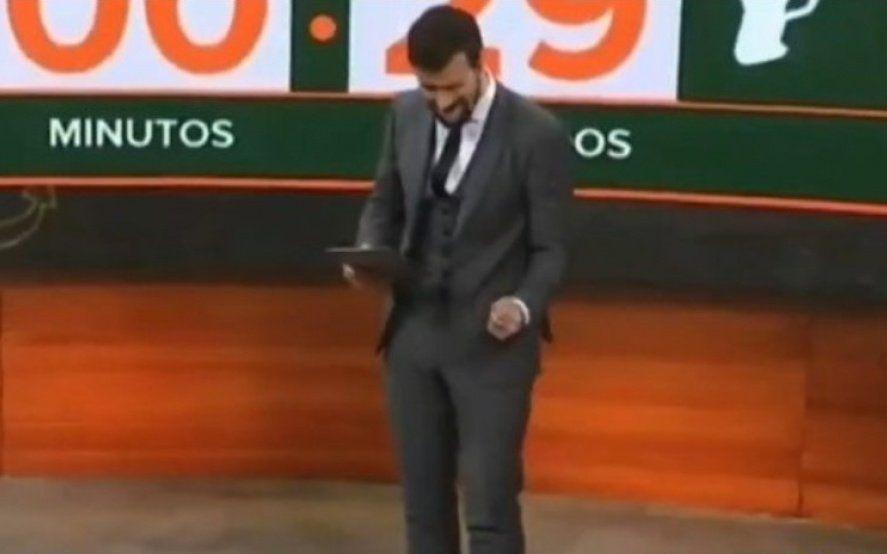 Diego Leuco hizo un gesto en vivo y causó repudio en las redes
