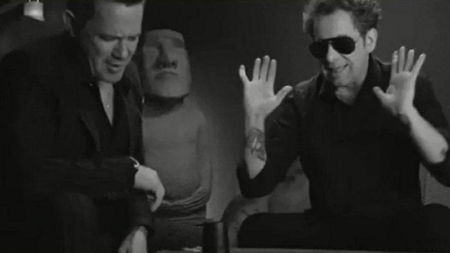 El video de Calamaro junto a Sanz se estrena hoy a las 18 horas en el canal oficial que el argentino tiene en YouTube.