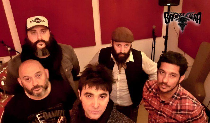Cabeza de Cabra y La Vieja Bis encabezan un festival vía streaming para ayudar a la familia de un músico del under platense