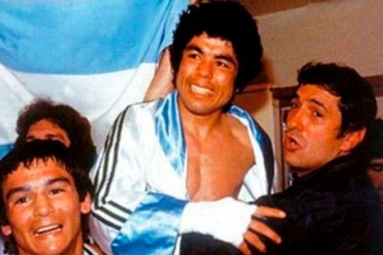 Los años dorados del boxeo para Sergio Víctor Palma. Hoy el coronavirus se llevó su vida en Mar del Plata