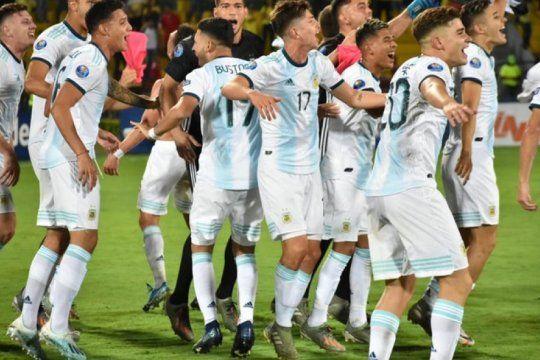 argentina consiguio su pasaje a los juegos olimpicos: mira todos los goles del campeon invicto