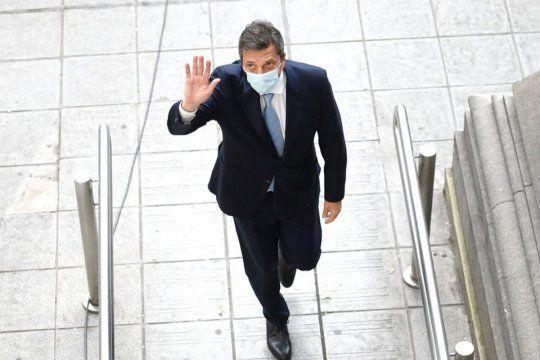 Massa llega a San Fernando para inagurar una fiscalía contra la violencia de género