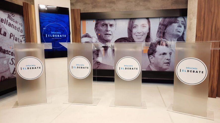 Por los cuatro atriles pasarán candidatos y candidatas de toda la provincia de Buenos Aires.