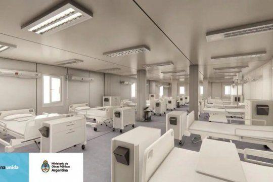 en que carceles bonaerenses se construiran los centros sanitarios por el covid 19
