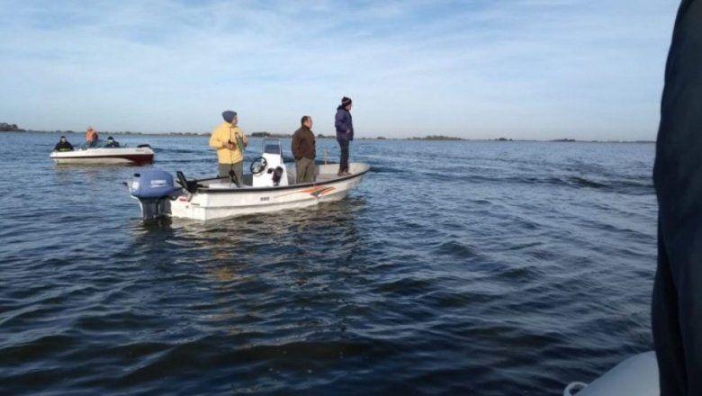 Triste final: encontraron el cuerpo del kayakista buscado en una laguna de General Madariaga