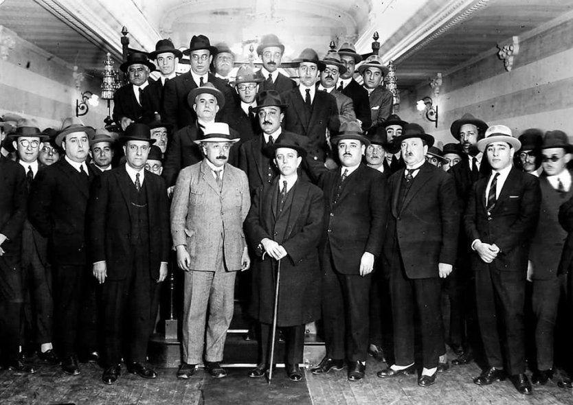 Albert Einstein en el Conurbano: de Alemania a Llavallol