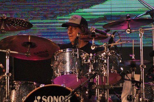 Claudio Maffia, baterista e Kapanga