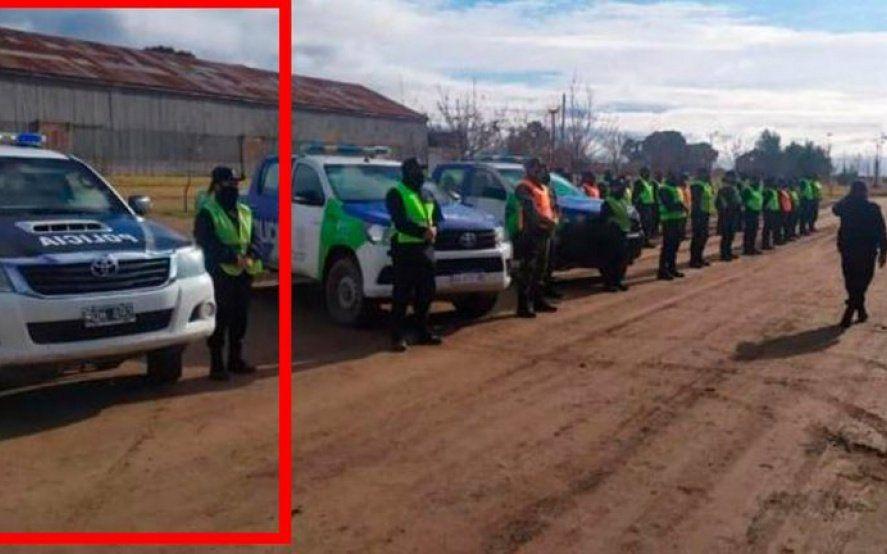 Facundo Astudillo: perros rastreadores marcaron dos camionetas de la policía