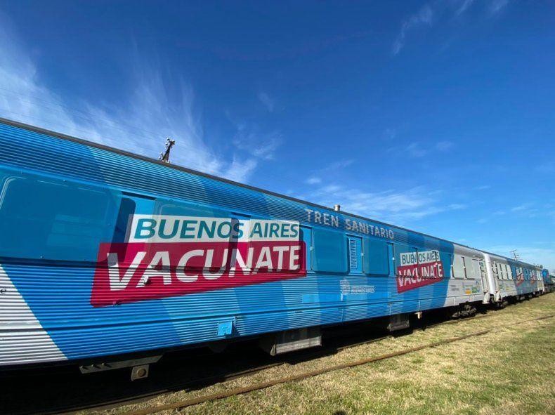 El tren sanitario llega a Bahía Blanca