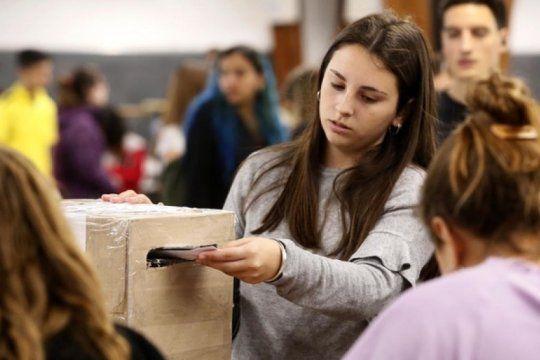 expectativa en las 17 facultades de la unlp: asi se vive la segunda jornada de las elecciones estudiantiles