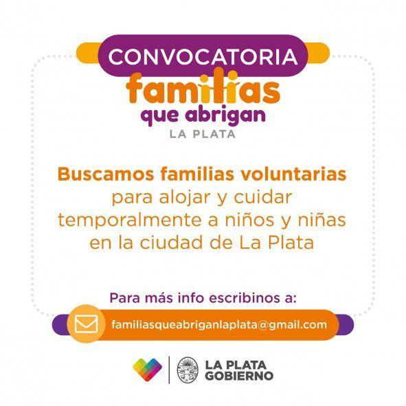Ya son 400 las familias inscriptas para alojar y cuidar niños en La Plata
