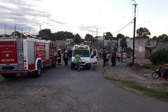 Bahía Blanca: heridos al ceder una tribuna improvisada