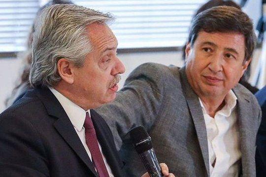 Operativo navidad: Alberto Fernández le pidió a Daniel Arroyo que duplique la compra de cajas navideñas.