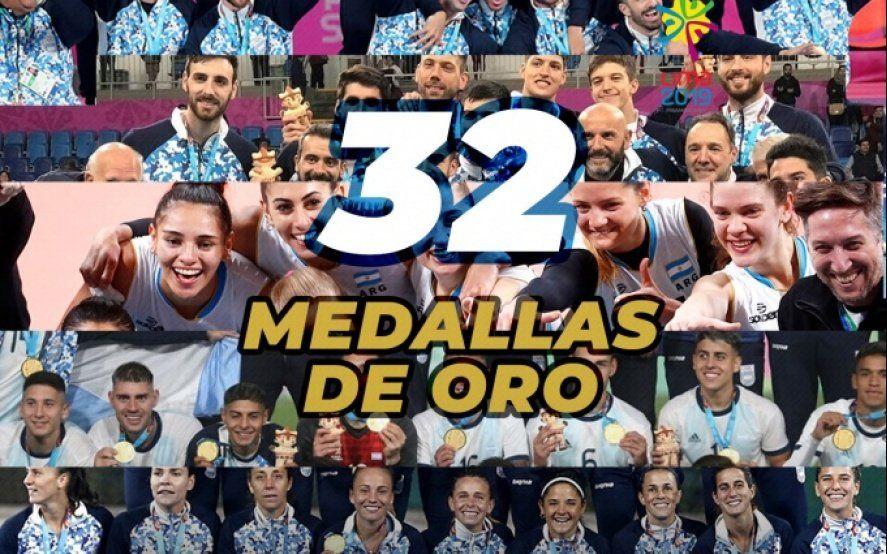 Juegos Panamericanos: récord de medallas de oro para Argentina