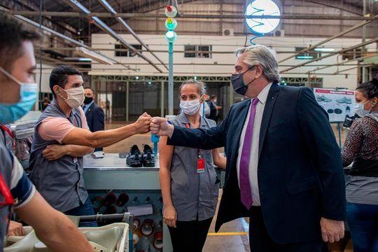 El presidente Alberto Fernández apuesta a todo en la previa de las PASO