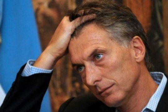 argentinos convocan a una protesta contra macri en paris