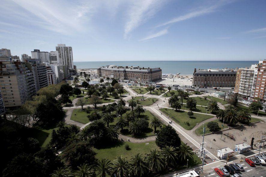 Mar del Plata apuesta a la temporada de verano en medio de la pandemia de coronavirus (Foto: @mardelplata)