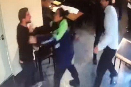 violenta pelea de dos abogados en mar del plata por una estafa